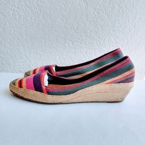 Lucky Brand Espadrille Wedge Size 8.5